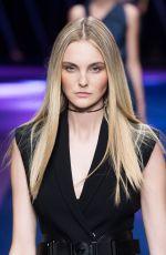 CAROLINE TRENTINI at Versace Spring/Summer 2017 Fashion Show at Milan Fashion Week