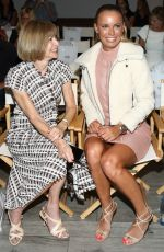 CAROLINE WOZNIACKI at Serena Williams Signature Statement Collection by HSN Show at NYFW 09/12/2016