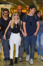 CARSLON YOUNG and Isom Innis - at Airport in Rio De Janeiro 08/30/2016