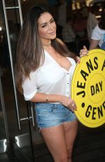 CASEY BATCHELOR at Jeans for Genes Day 2016 Launch Party in London 09/13/2016