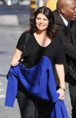 CASEY WILSON at Jimmy Kimmel Live! in Hollywood 08/31/2016