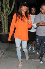 CASSIE Night Out in West Hollywood 09/04/2016