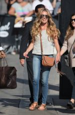 CAT DEELEY Arrives at Jimmy Kimmel Live! in Hollywood 08/31/2016