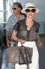 CATHERINE ZETA JONES at JFK Airport in New York 08/29/2016