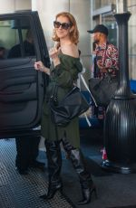 CELINE DION Leaves Her Hotel in Los Angeles 09/09/2016