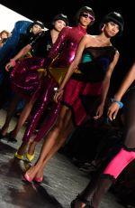 CHANEL IMAN at Jeremy Scott Fashion Show at New York Fashion Week 09/12/2016