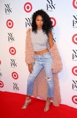 CHANEL IMAN at Target + IMG NYFW Kickoff Party in New York 09/06/2016