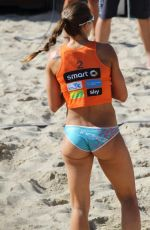 CHANTAL LABOUREUR Playing Beach Volleyball at Timmendorfer Beach 09/10/2016