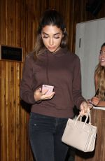 CHANTEL JEFFRIES at Nice Guy in West Hollywood 09/19/2016