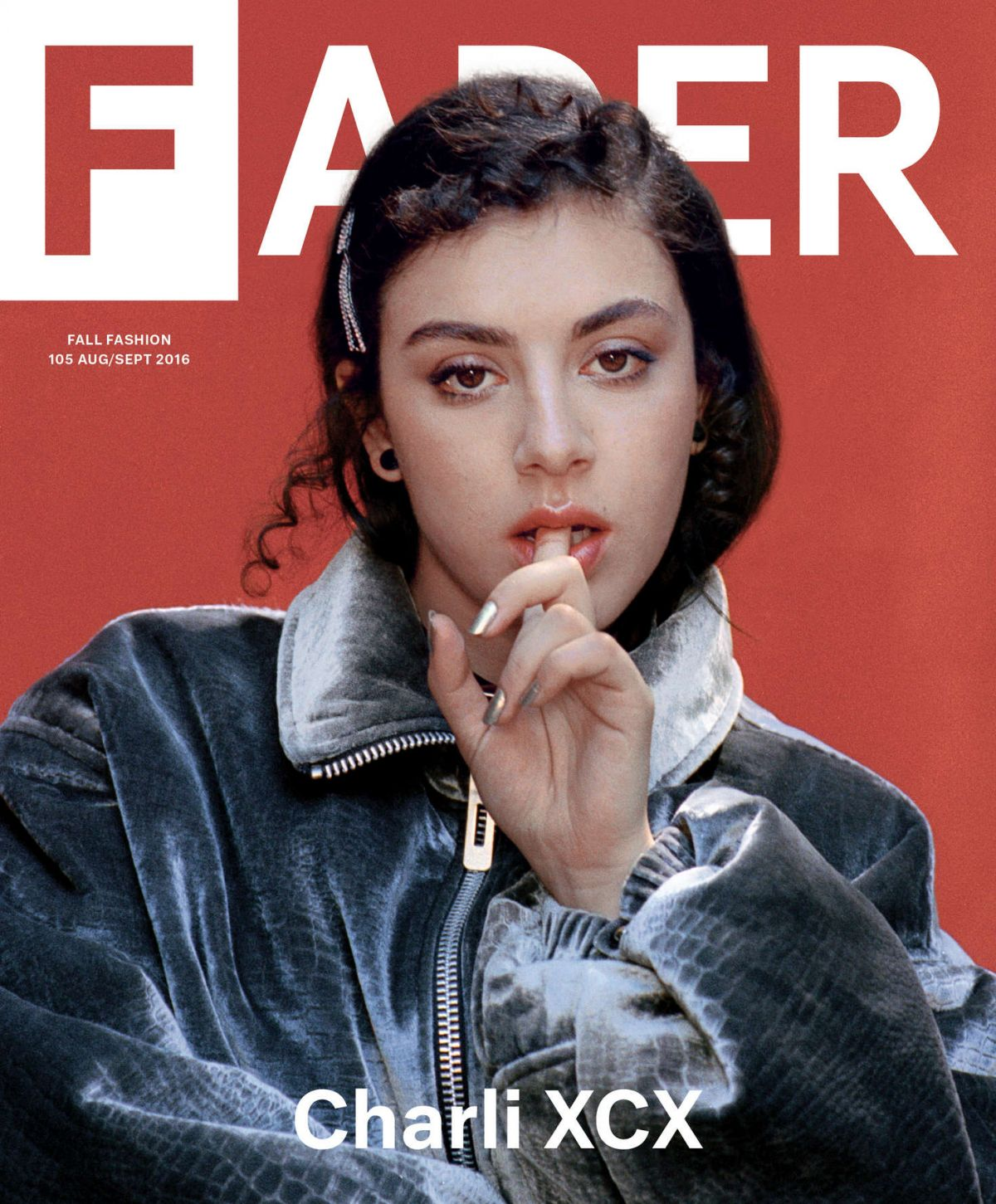 CHARLI XCX in Fader Magazine, August/September 2016 Issue