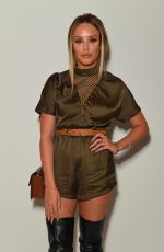 CHARLOTTE CROSBY at Rocky Star Catwalk Show at London Fashion Week 09/16/2016