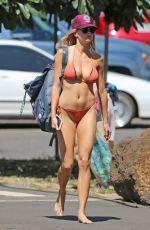 CHARLOTTE MCKINNEY in Bikini on the Beach in Hawaii 09/07/2016