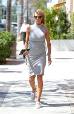 CHARLOTTE MCKINNEY Out and About in Beverly Hills 09/01/2016