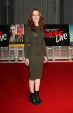 CHARLOTTE SPENCER at Empire Live: Swiss Army Mam & Imperium Gala Screening in London 09/23/2016