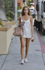 CHIARA FERRAGNI Out and About in Los Angeles 08/24/2016