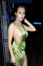 CHLOE GOODMAN Night Out in London 09/12/2016