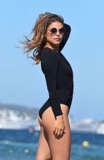 CHLOE LEWIS in Swimsuit on the Beac in Ibiza 09/01/2016