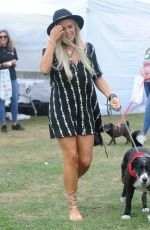 CHLOE MEADOWS at Pupaid Anti-puppy Farming Event in Primrose Hill 09/03/2016
