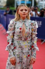 CHLOE MORETZ at 42th Deauville American Film Festival Opening in Deauville 09/02/2016