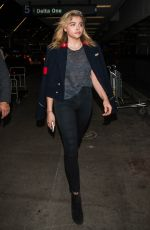 CHLOE MORETZ at LAX Airport in Los Angeles 09/11/2016