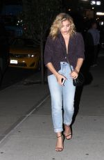 CHLOE MORETZ Night Out in New York 09/06/2016