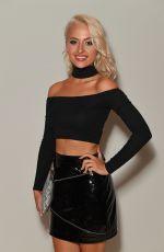 CHLOE PAIGE at Rocky Star Catwalk Show at London Fashion Week 09/16/2016