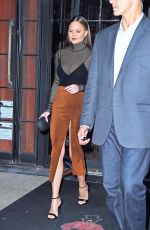 CHRISSY TEIGEN at Bowery Hotel in New York 09/28/2016