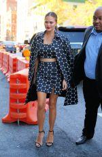 CHRISSY TEIGEN at Michael Kors Fashion Show at New York Fashion Week 09/14/2016