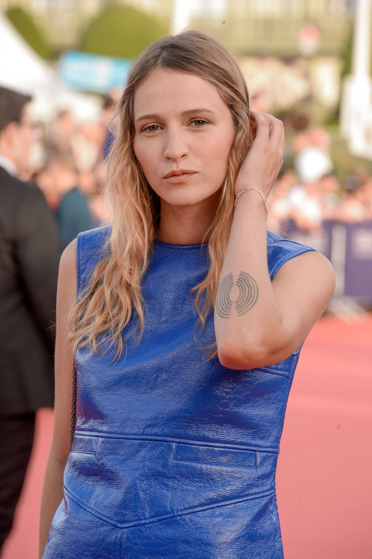 CHRISTA THERET at Tribute to Stanley Tucci at 42nd Deauville American Film Festival 09/03/2016