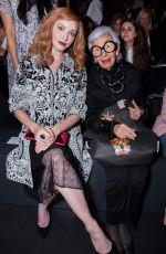 CHRISTINA HENDRICKS at Naeem Khan Fashion Show at New York Fashion Week 09/14/2016