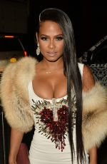 CHRISTINA MILIAN at Blonds Fashion Show in New York 09/11/2016