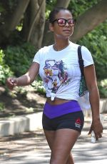 CHRISTINA MILIAN Working Out in Los Angeles 09/07/2016