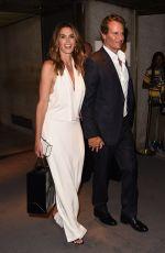 CINDY CRAWFORD at Tom Ford Fashion Show at New York Fashion Week 09/07/2016
