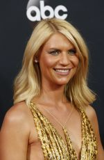 CLAIRE DANES at 68th Annual Primetime Emmy Awards in Los Angeles 09/18/2016