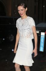 COCO ROCHA Arrives at Marchesa Fashion Show at NYFW in New York 09/14/2016