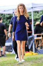 CONSTANCE JABLONSKI on the Set of a Photoshoot in New York 09/05/2016
