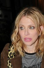 COURTNEY LOVE at Love Magazine Party at Lou Lou