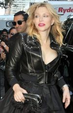 COURTNEY LOVE at Marc Jacobs Fashion Show at New York Fashion Week 09/15/2016