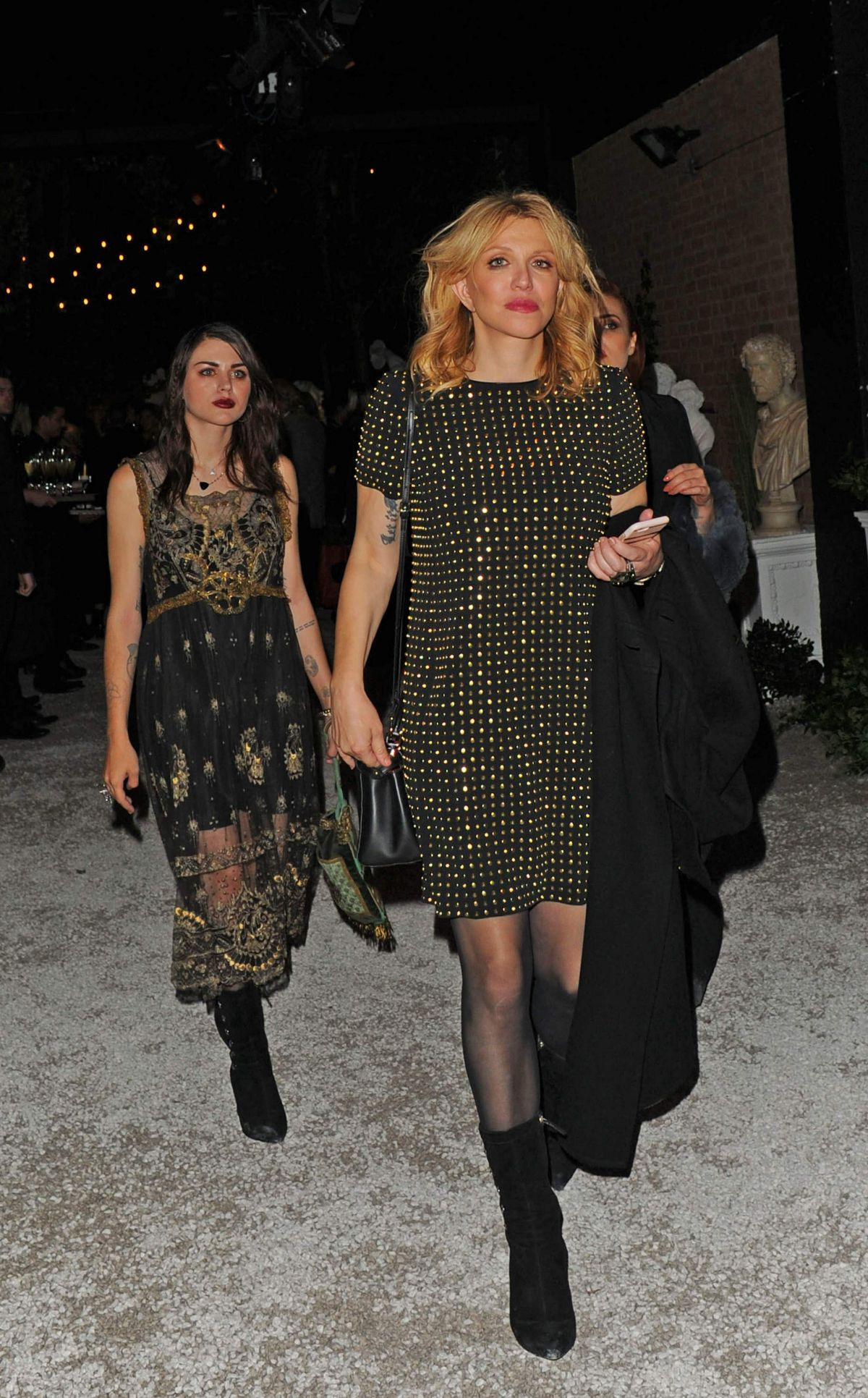 COURTNEY LOVE at Night Launch Party in London 09/20/2016 - HawtCelebs ...