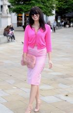 DAISY LOWE at Saatchi Gallery in London 09/25/2016