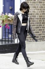 DAISY LOWE Out and About in London 09/26/2016