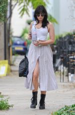 DAISY LOWE Out and About in Primrose Hill 09/07/2016