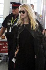 DAKOTA FANNING at Airport in Toronto 09/13/2016