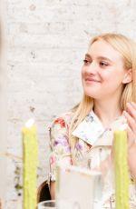 DAKOTA FANNING at W Magazine IT Girl Luncheon in New York 09/07/2016