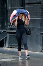 DAKOTA FANNING Out and About in New York 09/19/2016