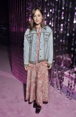 DAKOTA JOHNSON at Gucci Fashion Show at Milan Fashion Week 09/21/2016