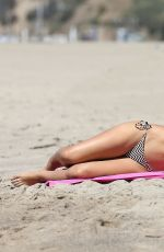 DANAY GARCIA in Bikini at a Beach in Santa Monica 09/15/2016