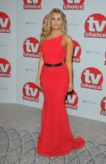 DANIELLE ARMSTRONG at TV Choice Awards in London 09/05/2016