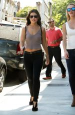 DANIELLE CAMPBELL Out and About in West Hollywood 09/15/2016