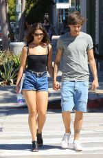 DANIELLE CAMPBELL Out Shopping in West Hollywood 09/11/2016